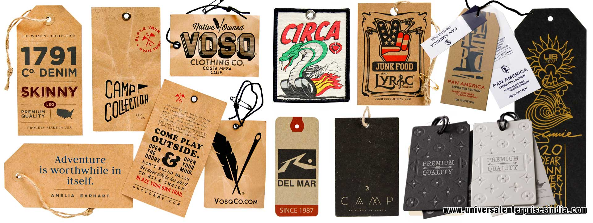 Garment Hang Tags Garment Hang Labels Garment Label Garment Tag manufacturers suppliers dealers in ludhiana Punjab India