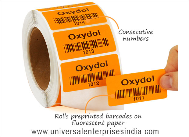 Printed Barcode Label manufacturers suppliers sellers in ludhiana punjab india