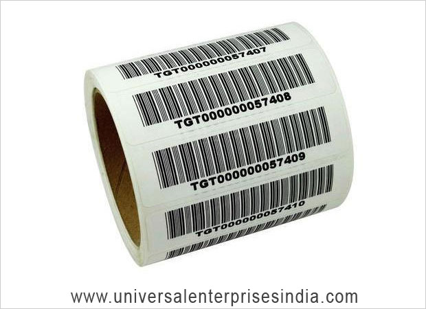 Barcode Label Roll / Barcode Sticker Roll manufacturers suppliers sellers in ludhiana punjab india